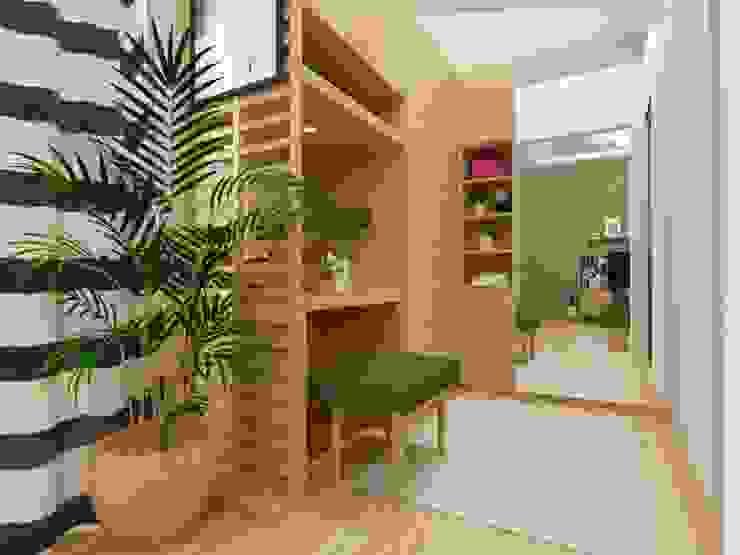 Scandinavian style bedroom by viku Scandinavian Wood Wood effect