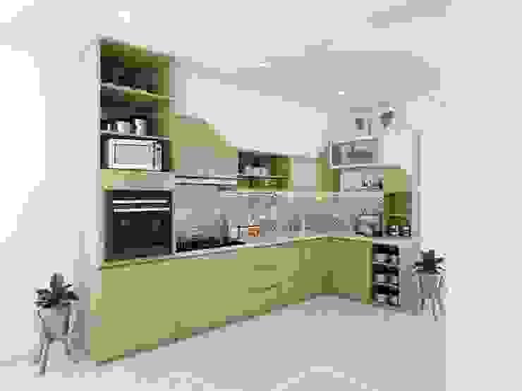 Cocinas de estilo minimalista de viku Minimalista Contrachapado
