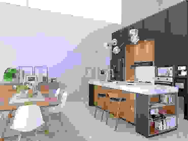 Cocinas de estilo minimalista de viku Minimalista