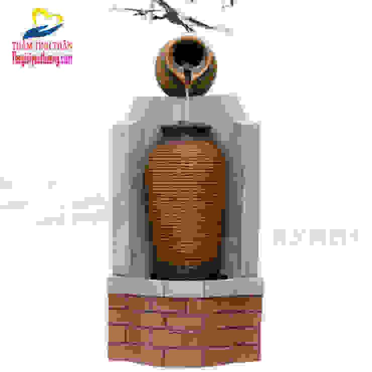 Thác Nước Phong Thủy Hình CHum bởi Quà Tặng Natra Hiện đại