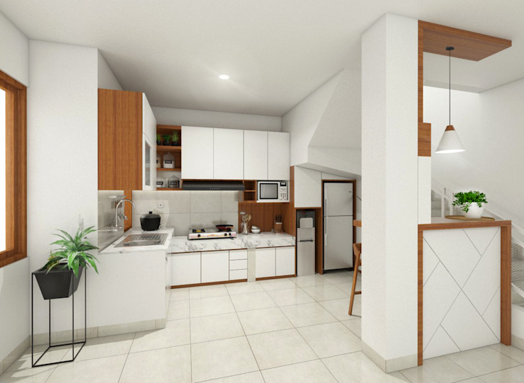 Modern style kitchen by viku Modern
