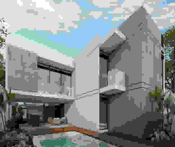 PLAY Urban Studio Single family home Concrete Grey