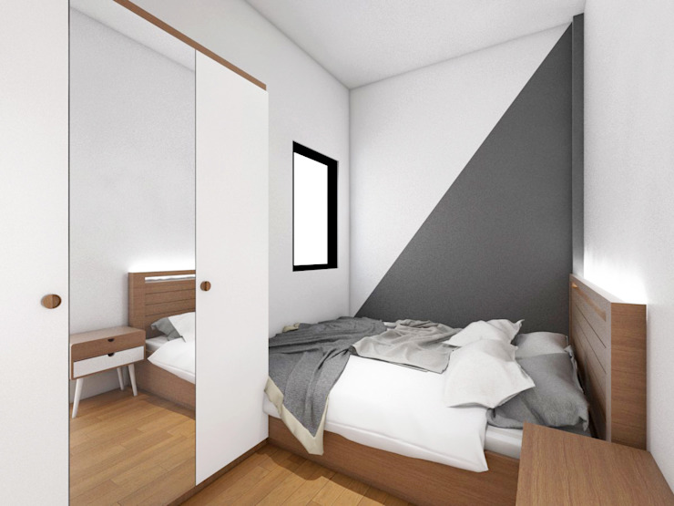 Bedroom Interior Kamar Tidur Modern Oleh viku Modern