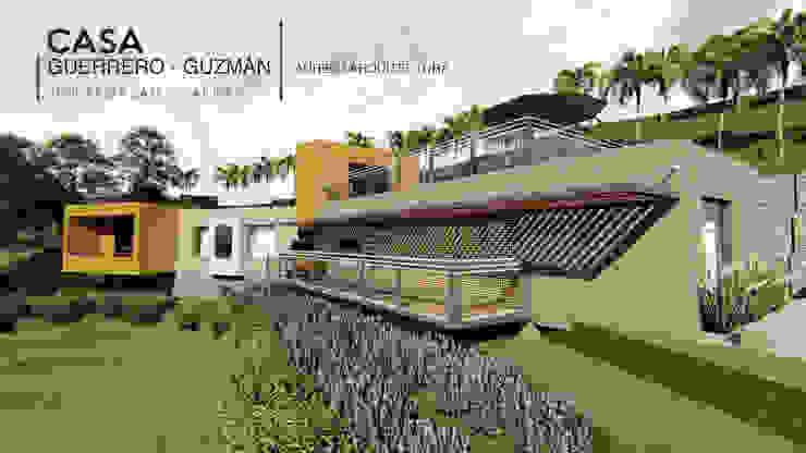 by Áureo Arquitectura Modern Limestone