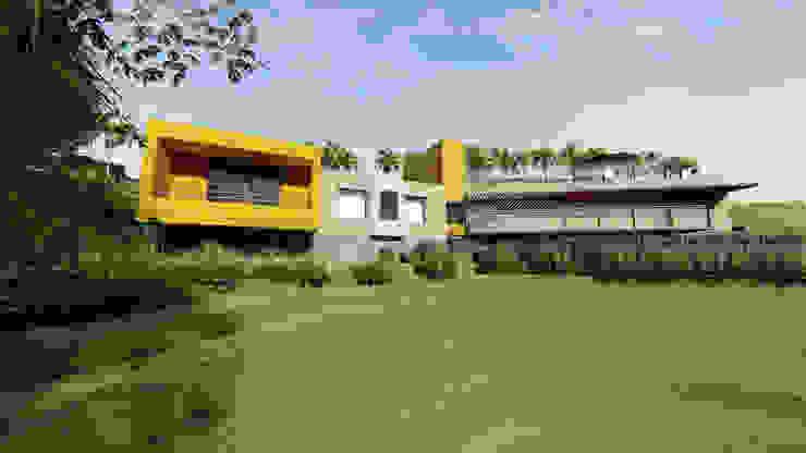 por Áureo Arquitectura Moderno Betão
