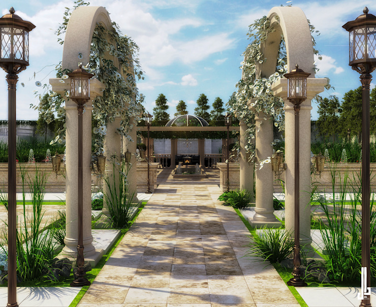 Jardines de estilo clásico de dal design office Clásico