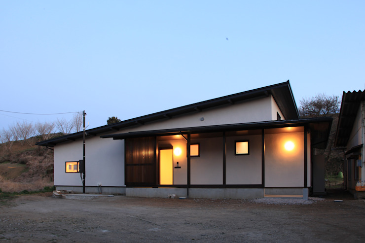 Asian style houses by 田村建築設計工房 Asian