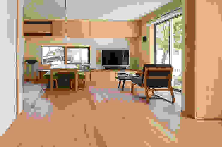 中山大輔建築設計事務所/Nakayama Architects Ruang Keluarga Modern