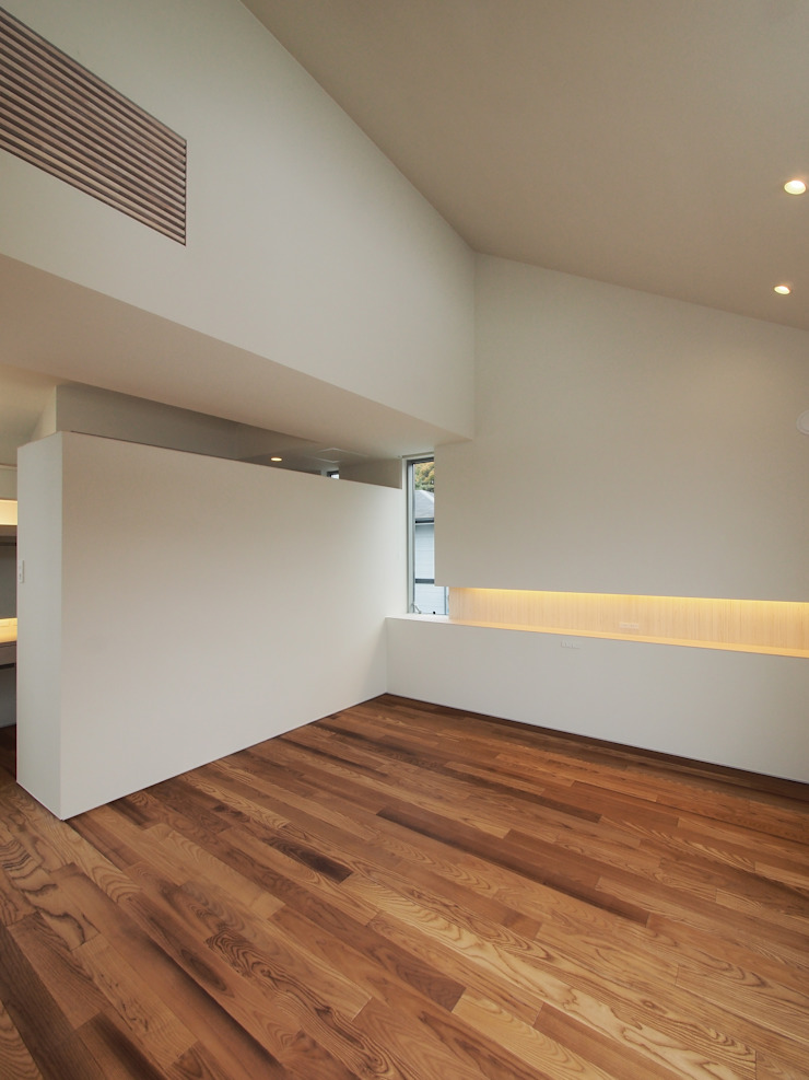 イシウエヨシヒロ建築設計事務所 YIA Modern style bedroom