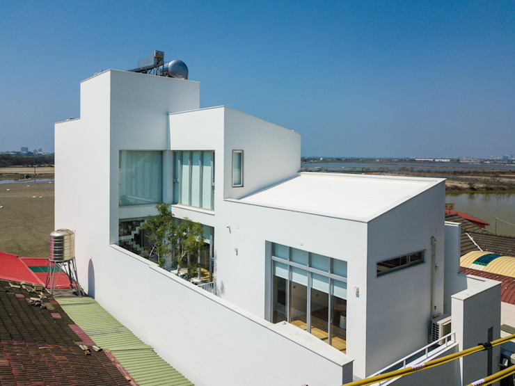 沈宅 根據 凸透設計-光庭建設 現代風