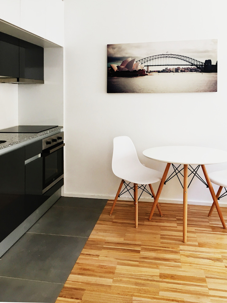Modern dining room by GAAPE - ARQUITECTURA, PLANEAMENTO E ENGENHARIA, LDA Modern