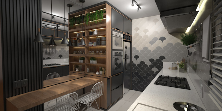 by Bárbara Hinkel - Arquitetura + Interiores Modern Quartz