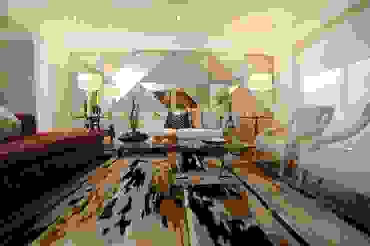 Salas modernas de Mario Ramos Moderno