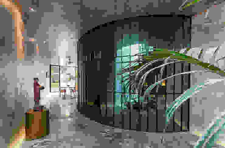 Cuarto de lavado Baños de estilo moderno de Taller Estilo Arquitectura Moderno Vidrio