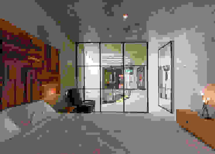Recamara de Huespedes de Taller Estilo Arquitectura Moderno Concreto