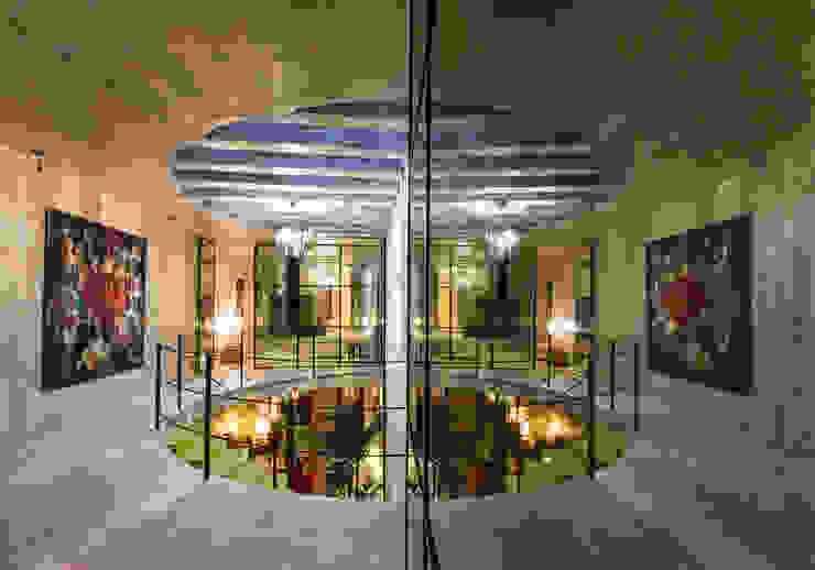 Detalle de Taller Estilo Arquitectura Moderno Vidrio