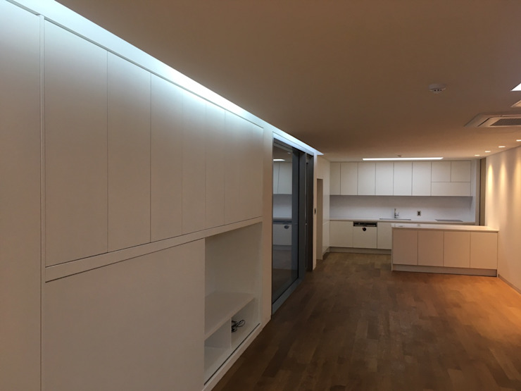 리데코 Living roomStorage White