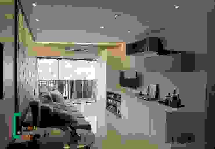 Iluminação e design Izabella Biancardine Interiores Salas de estar modernas