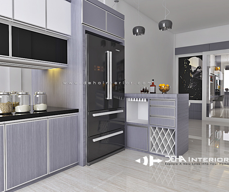 Project Thomin Shu Dapur Modern Oleh deha interior pekanbaru Modern
