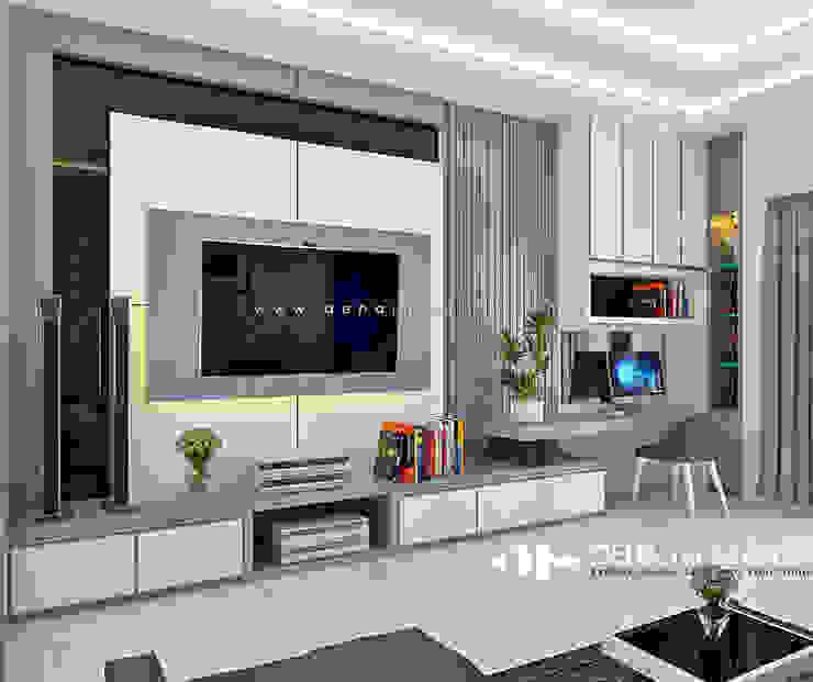 Project Thomin Shu Ruang Keluarga Modern Oleh deha interior pekanbaru Modern