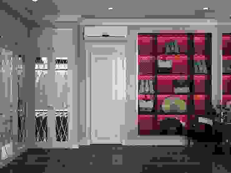 Phong cách Tân cổ điển trong nội thất biệt thự Lavila – ICON INTERIOR Phòng ngủ phong cách kinh điển bởi ICON INTERIOR Kinh điển