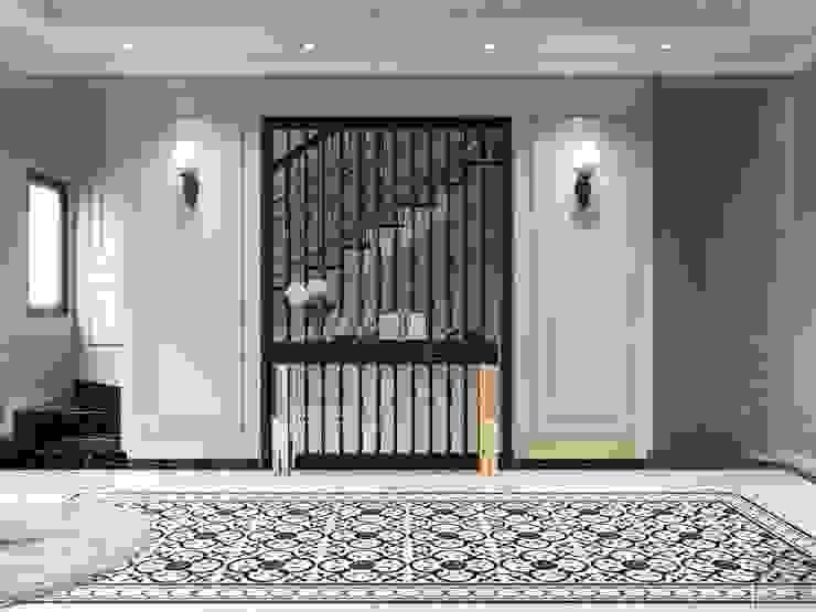 Phong cách Tân cổ điển trong nội thất biệt thự Lavila – ICON INTERIOR Phòng giải trí phong cách kinh điển bởi ICON INTERIOR Kinh điển