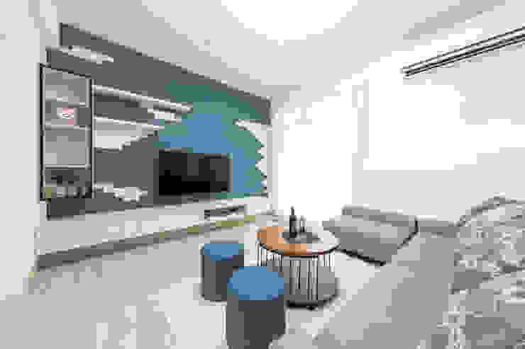 電視牆 根據 元作空間設計