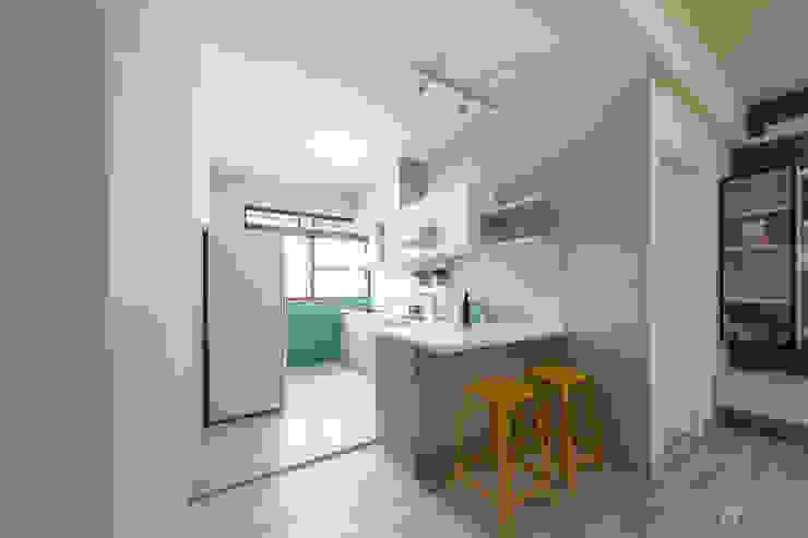 廚房&餐廳 根據 元作空間設計