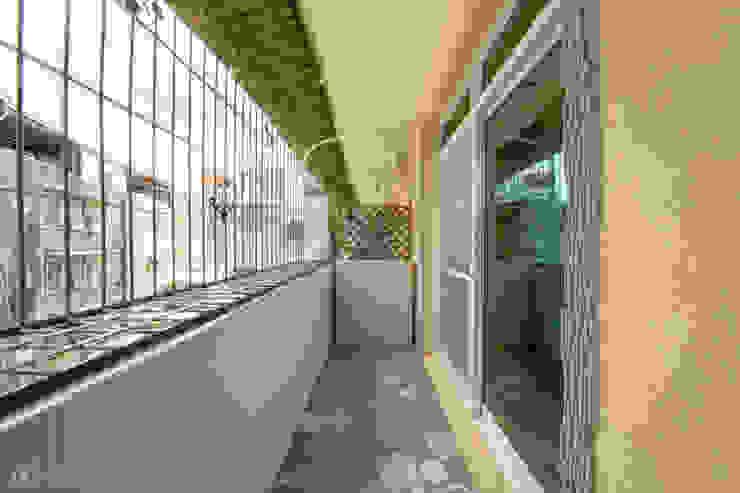 玄關陽台 根據 元作空間設計