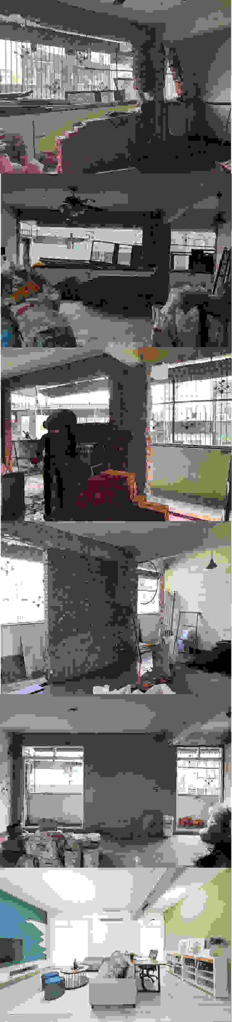 砌牆 根據 元作空間設計