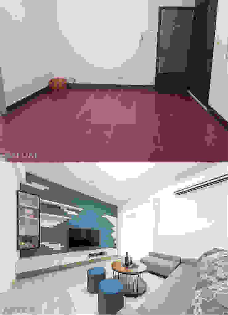 客廳對比 根據 元作空間設計