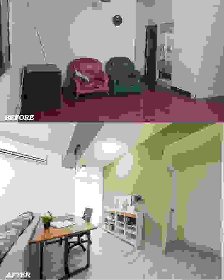 書房對比 根據 元作空間設計