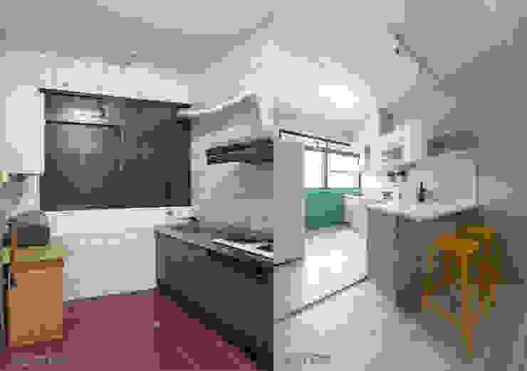 廚房對比 根據 元作空間設計