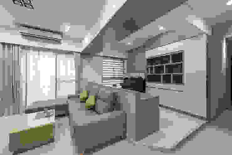 書房 根據 元作空間設計 現代風