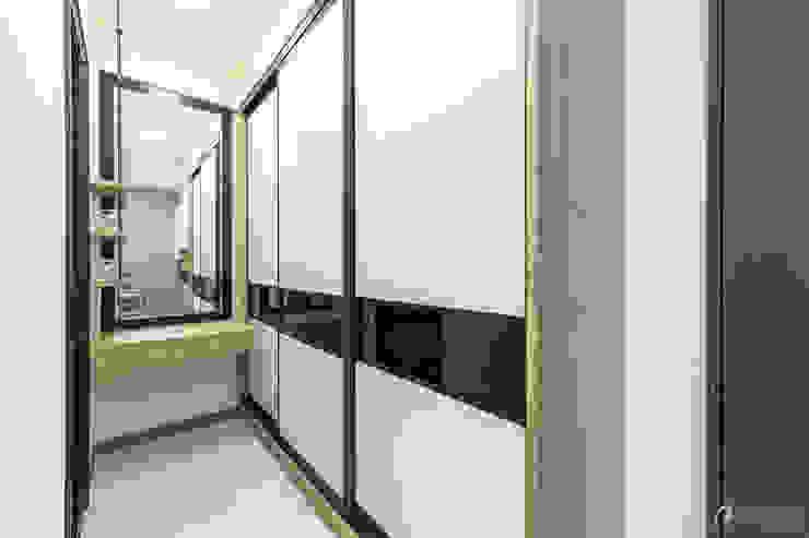 更衣室 根據 元作空間設計 現代風