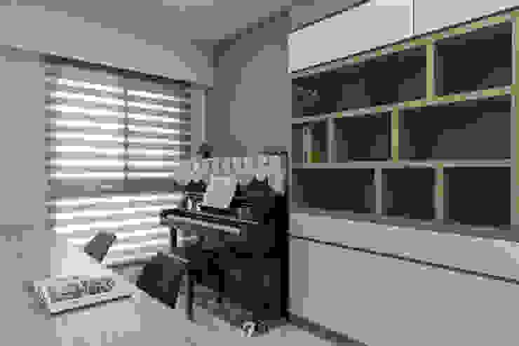 書房&鋼琴室 根據 元作空間設計 現代風