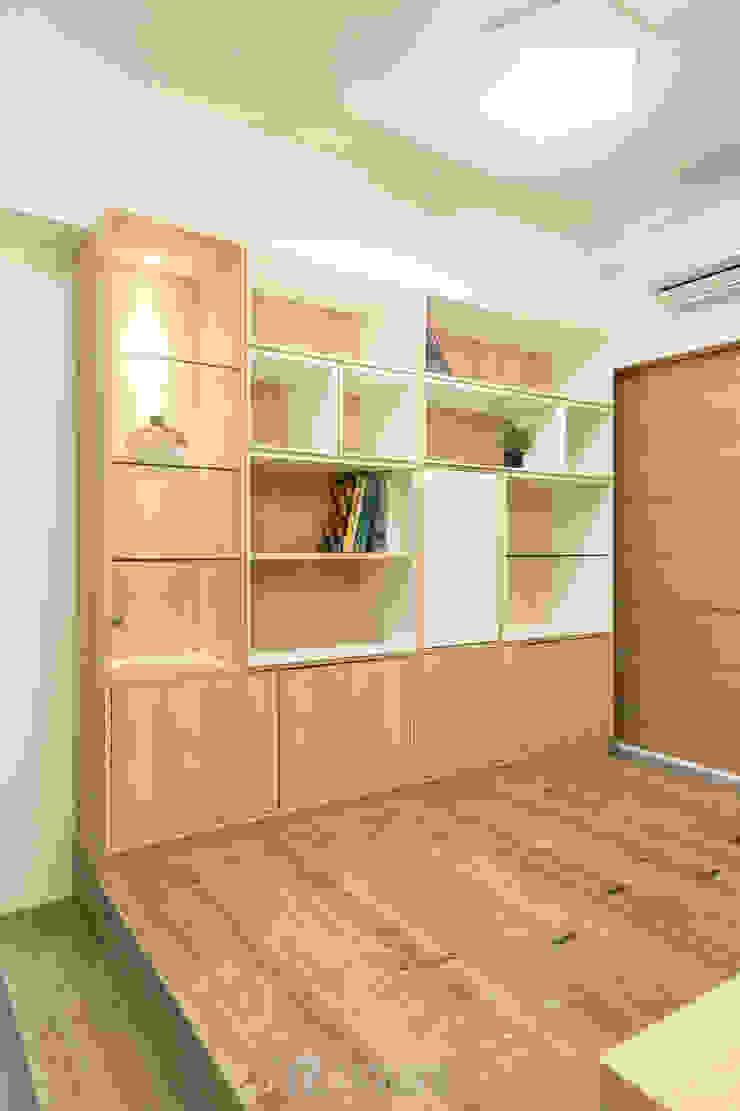 書房收納櫃 根據 元作空間設計 現代風