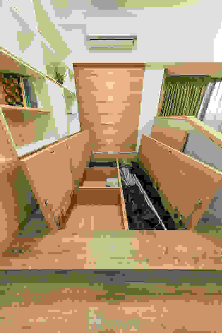 收納空間 根據 元作空間設計 現代風