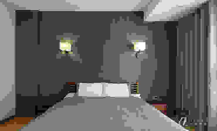主臥室床頭 根據 元作空間設計 現代風