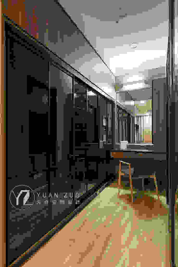 更衣室&梳妝台 根據 元作空間設計 現代風