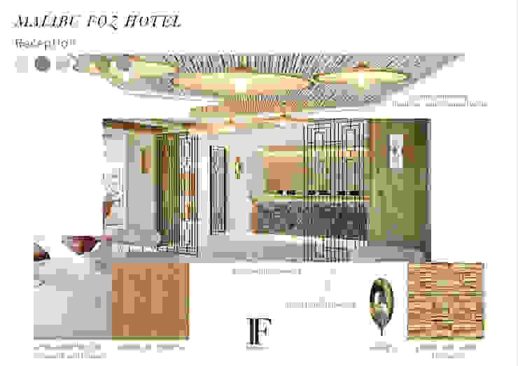 Recepção Hotéis mediterrânicos por Inêz Fino Interiors, LDA Mediterrânico