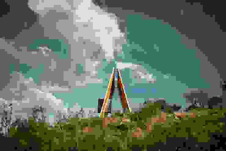 Kapelle im Weinberg: modern  von Ecologic City Garden - Paul Marie Creation,Modern
