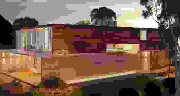 Casas de campo de estilo  por Viviane Cunha Arquitetura
