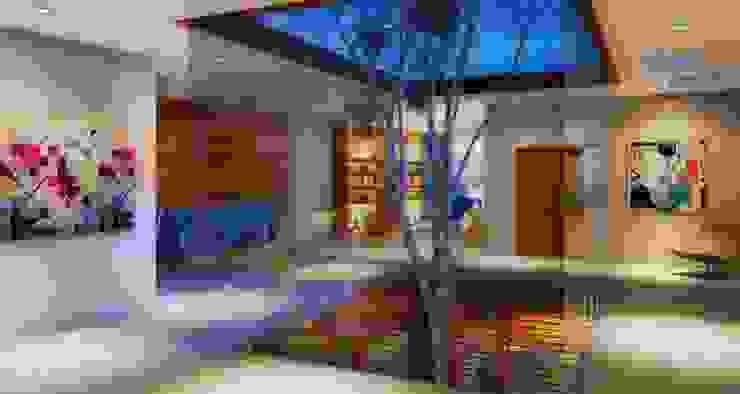 Couloir et hall d'entrée de style  par Viviane Cunha Arquitectura, Moderne