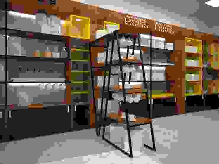 coffee shop: حديث  تنفيذ ET.CAD,حداثي MDF