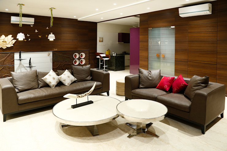 Residential Project Modern living room by Obaku Design Modern