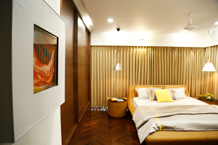Residential Interior Project Modern style bedroom by Obaku Design Modern