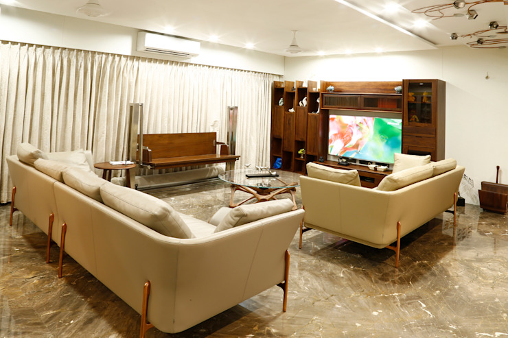 Residential Interior Project Modern living room by Obaku Design Modern