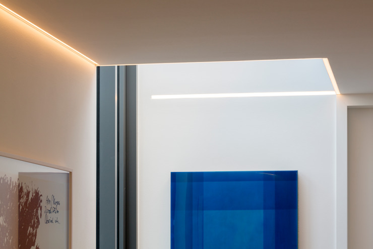 ARCHITEKTEN BRÜNING REIN Modern corridor, hallway & stairs
