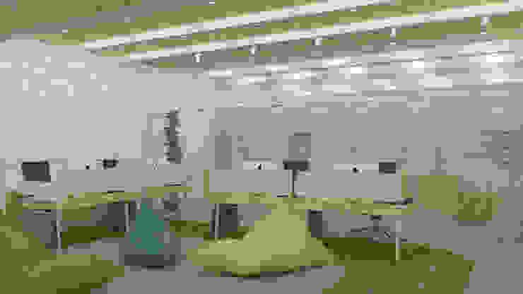 KM Designer Office TIES Design & Build Ruang Studi/Kantor Minimalis